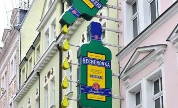 Музей бехеровки в Карловых Варах, фото