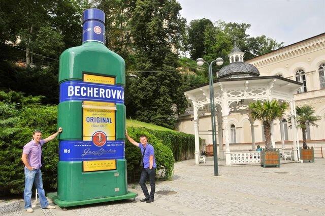 Бехеровка в Карловых Варах, фото