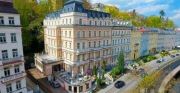 Отель в Карловых Варах, Чехия