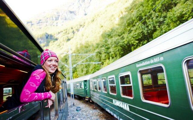 На поезде в Карловы Вары