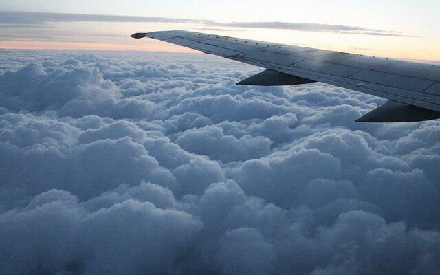 На самолете в Карловы Вары